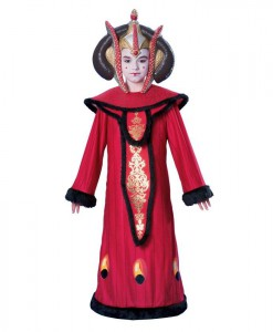 Star Wars Deluxe Queen Amidala Child Costume