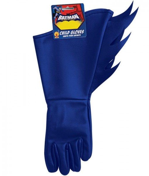 Batman Brave Bold Batman Child Gloves