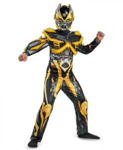 Transformers Age of Extinction - Deluxe Bumblebee Kids Costume