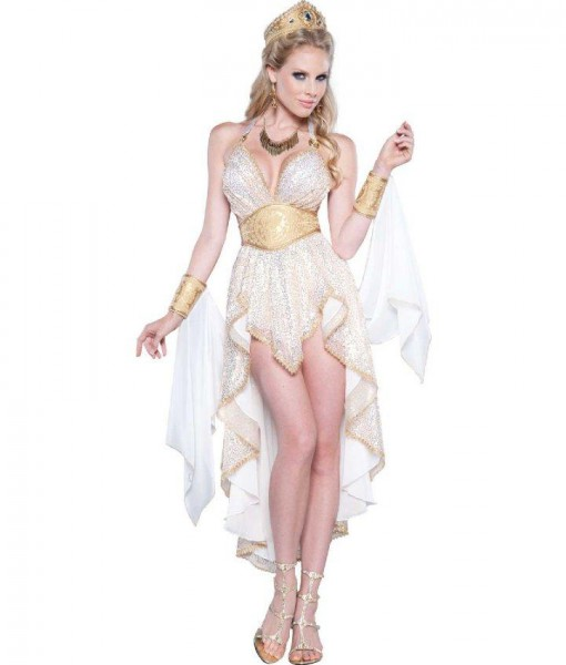 Glamorous Goddess Womens Dress Costume