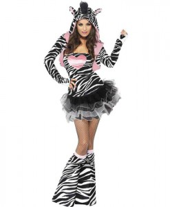 Fever Zebra Adult Animal Costume