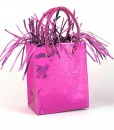 Mini Gift Bag Balloon Weight - Hot Pink