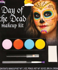 Day Of The Dead Womens Makeup Kit