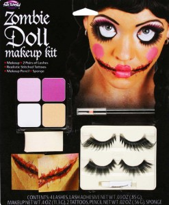 Zombie Doll Accessory Makeup Kit