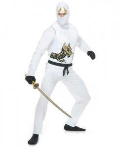 White Ninja Adult Avengers Series II Costume