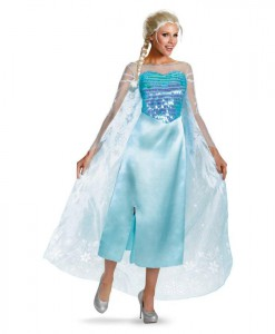 Disney Frozen - Deluxe Elsa Dress