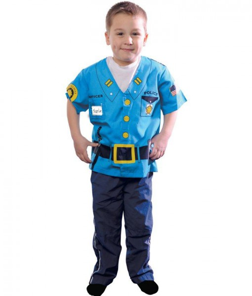 My First Career Gear Police Toddler Costume Halloween Costume
