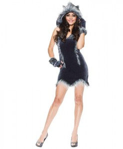 Howling Adult Hottie Werewolf Costume