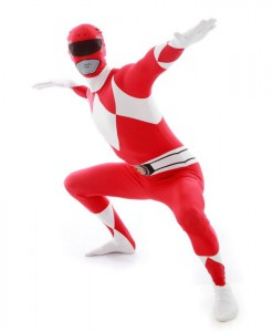 Power Rangers Red Adult Morphsuit