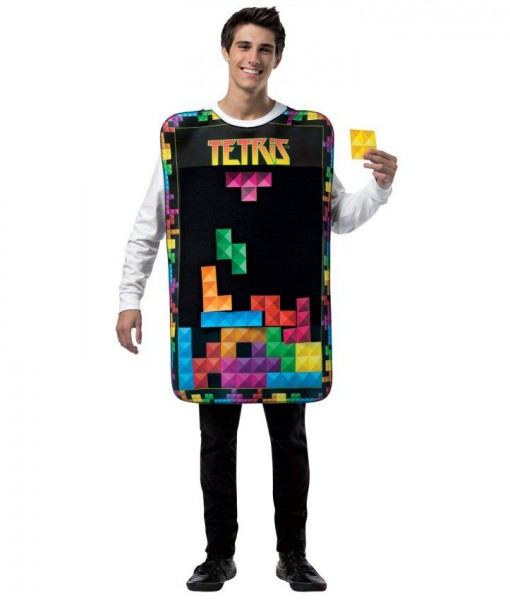Tetris Movable Pieces Adult Tunic Costume