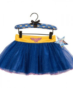 Wonder Woman Tutu Skirt With Puff Hanger