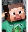 Minecraft Steve Head Mask Adult