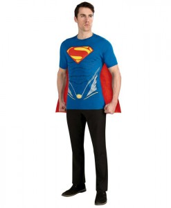 Superman Man of Steel Adult Costume Kit