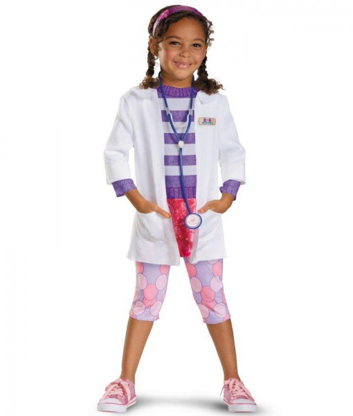 Doc McStuffins Deluxe Toddler / Child Costume