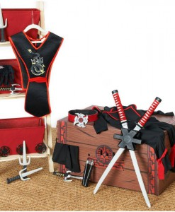 Deluxe Ninja Dress-Up Trunk