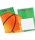 Basketball Fan - Thank You Cards (8 count)