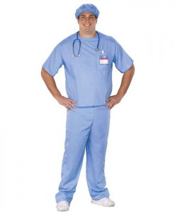 Doctor Scrubs - Adult Plus Costume