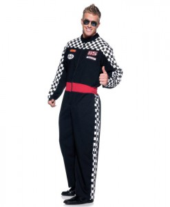Speed Demon Racer Jumpsuit Mens Costume