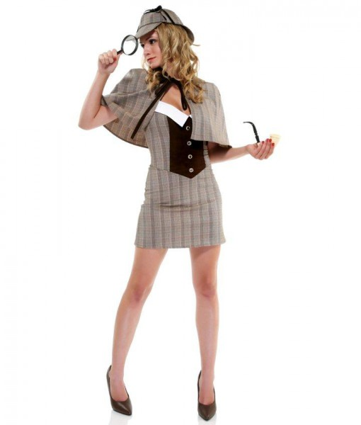 Sexy Womens Detective Costume