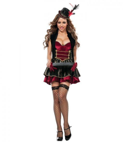 Elegant Adult Cigarette Girl Costume