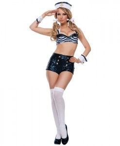 Seductive Womens Sailor Uniform
