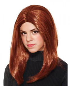 Captain America Winter Soldier - Black Widow Child Wig