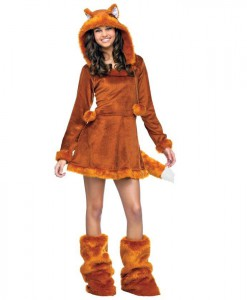 Sweet Fox Teen Costume