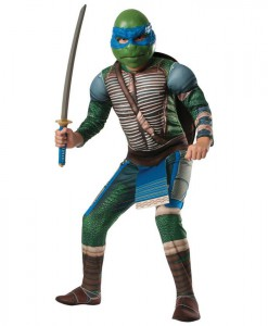Ninja Turtles Movie Deluxe Leonardo Child Costume