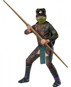 Teenage Mutant Ninja Turtle Movie - Deluxe Donatello Adult Costume