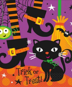 Spooky Boots Lunch Napkins (16 count)