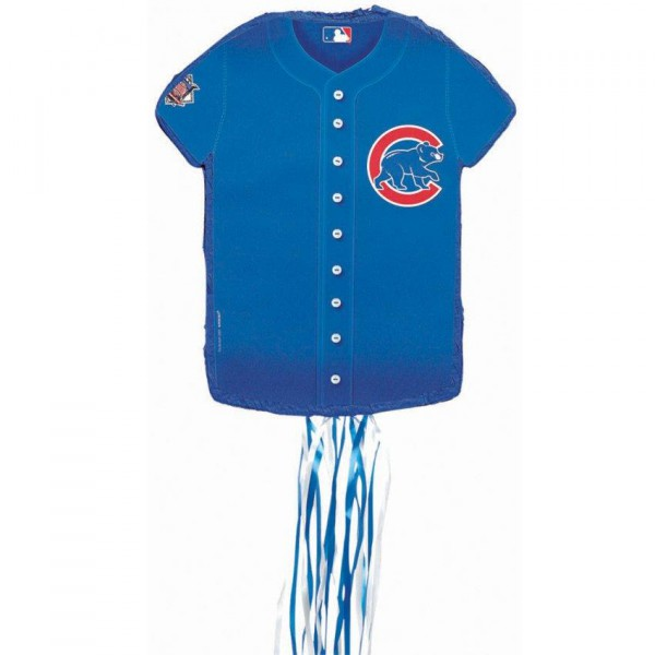 newest 813aa 9e3af Chicago Cubs Baseball – Shirt Shaped Pull-String Pinata