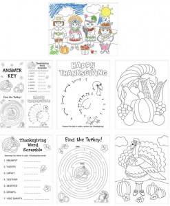 Thanksgiving Activity Sheets (30)