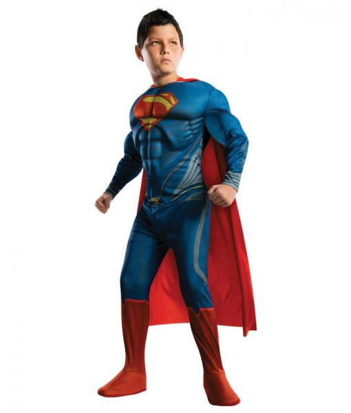 Superman Man of Steel Deluxe Toddler / Child Costume
