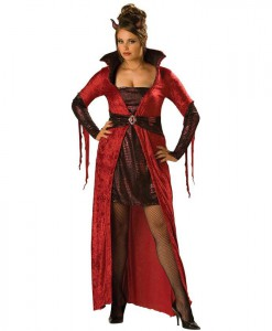 Seductive Devil Adult Plus Costume