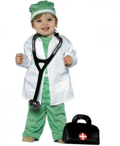 Future Doctor Child Costume