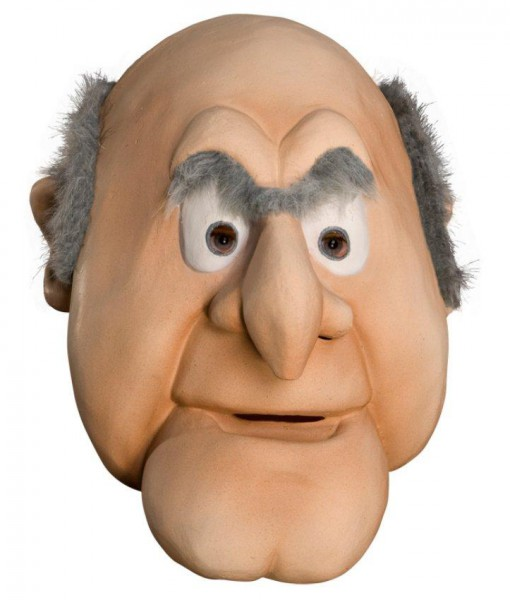 The Muppets Statler Overhead Latex Mask