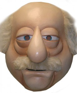 The Muppets Waldorf Overhead Latex Mask