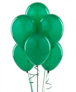 Jade Green 11 Latex Balloons (6 count)