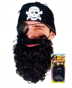 Black Pirate Beard