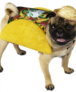 Taco Pet Food Dog Costume