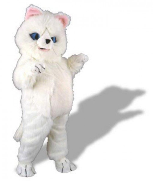Fluffy the Kitty Mascot Adult Costume