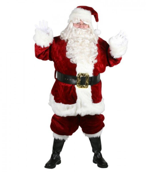 Majestic Santa Suit Plus Size Costume (Size 58-62)