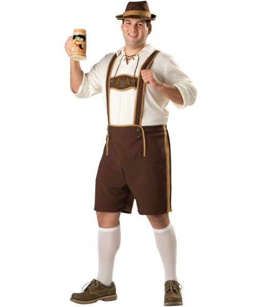 Bavarian Guy Adult Plus Costume
