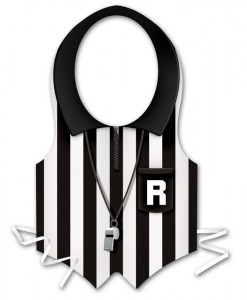 Plastic Referee Vest