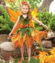Fall Fairy Child Costume