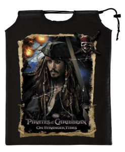 Pirates of the Caribbean 4 On Stranger Tides - Drawstring Treat Sack