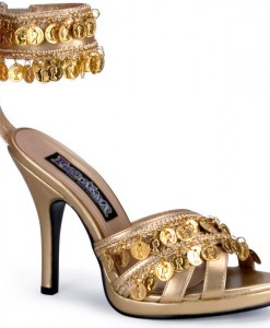 Gold Gypsy Shoes Adult