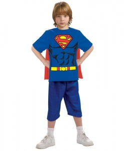 Superman Child Costume Kit