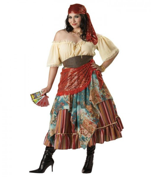 Fortune Teller Elite Collection Adult Plus Costume