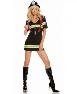 Ms. Blazin' Hot Adult Costume